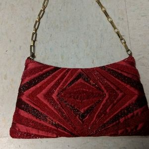 Lord and Taylor red purse